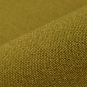 Samba - Ochre - Cotton and viscose blended together into fabric made in a light olive green-beige colour