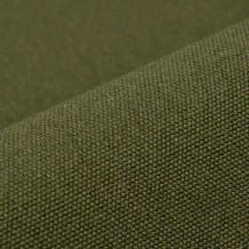 Samba - Dark Green - Plain tin grey coloured fabric made from a blend of cotton and viscose
