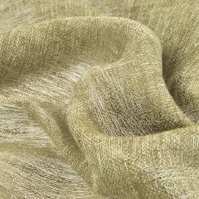Chunga - Tan Beige (9) - Thin fabric made from 100% linen, featuring white and light grey-beige coloured threads