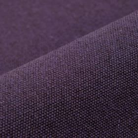 Samba - Purple (33) - Dark purple and grey coloured cotton and viscose blend fabric