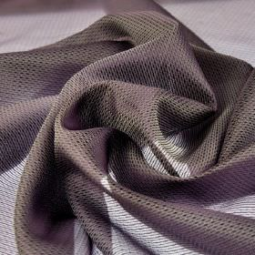 Pisa - Lilac - 100% Trevira CS fabric featuring a subtle pattern and a translucent finish in a classic grey-blue colour