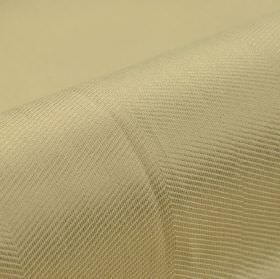 Vogue CS - Goud Beige (6) - Very subtle diagonal lines creating a simple, regular pattern over pearl coloured 100% Trevira CS fabric