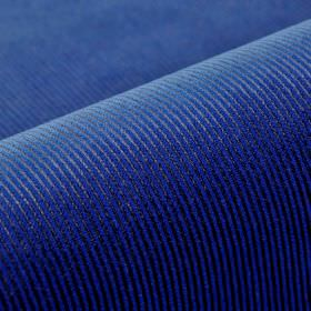 Orion - Blue - Vibrant Royal blue coloured fabric made from cotton, polyester and viscose, with a very thin, subtle pinstripe pattern
