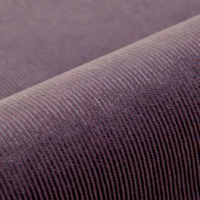 Orion - Purple - Fabric made from thin pinstripe patterned cotton, polyester and viscose in two different dusky shades of purple