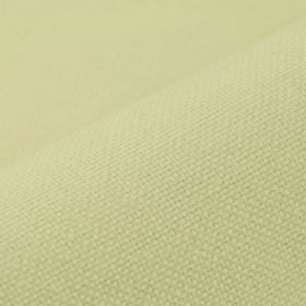 Breakline - Beige - Pale apple green coloured linen and polyester blend fabric