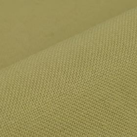 Breakline - Taupe - Linen and polyester blend fabric made in a light apple green colour