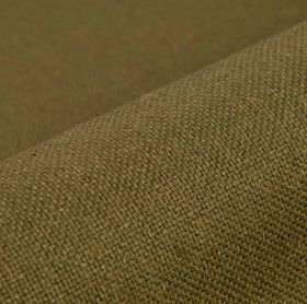 Breakline - Brown - Army green coloured fabric made with equal parts linen and polyester