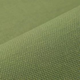 Breakline - Olive Green - Plain linen and polyester blend fabric made in a dusky shade of mint green