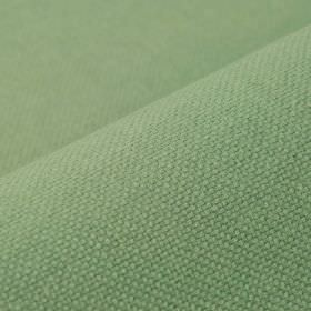 Breakline - Aqua Green - Fabric made from linen and polyester in a light shade of mint green with a very subtle hint of pale blue