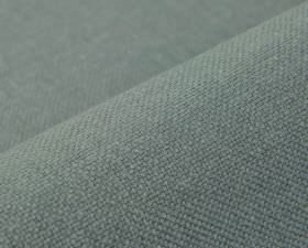 Breakline - Light Blue (20) - Plain blue-grey coloured fabric made from a mixture of linen and polyester
