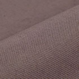 Breakline - Purple - Pinkish grey coloured plain linen and polyester blend fabric