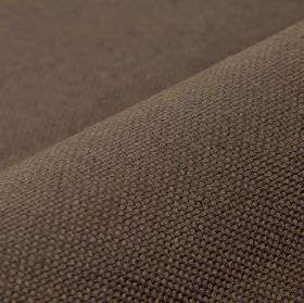 Breakline - Coffee (25) - Dark cocoa coloured fabric made from linen and polyester