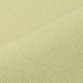 Break - Cream (2) - Fabric made from plain linen and polyester in a very pale creamy yellow colour