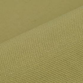 Break - Beige (3) - Plain fabric made from light green-grey coloured linen and polyester