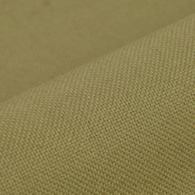 Break - Taupe (4) - Dusky green-grey coloured linen and polyester blend fabric