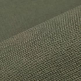 Break - Grey (11) - Dark gunmetal grey coloured linen and polyester blend fabric made with no pattern