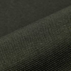 Break - Black - Plain linen and polyester blend fabric made in dark charcoal grey