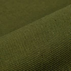 Break - Dark Green - Fabric made from rich forest green coloured linen and polyester