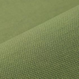 Break - Olive Green (16) - Fabric made from linen and polyester in a light grass green colour