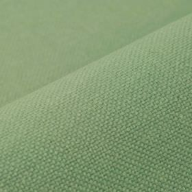 Break - Aqua Green - Fabric blended from linen and polyester in a light but slightly dusky shade of mint green