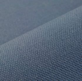 Break - Blue (22) - Plain denim blue-grey coloured fabric made from equal parts linen and polyester
