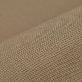 Break - Pink - Fabric made from plain latte coloured linen and polyester