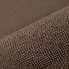 Break - Coffee - Equal parts linen and polyester combined to create a very dark chocolate brown coloured fabric