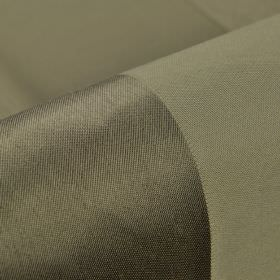 Moken - Bruin (3) - Fabric made from 100% polyester with a simple, wide striped design in concrete grey and gunmetal grey