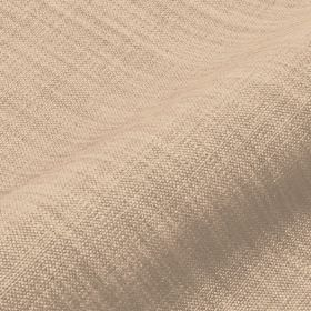 Prino - Beige2 - Threads in pale shades of cream and grey making up a linen, polyamide and viscose blend fabric