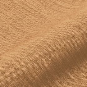 Prino - Brown1 - Linen, polyamide and viscose blend fabric woven from threads in light shades of orange and brown