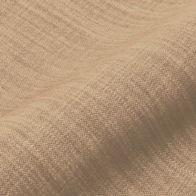 Prino - Brown (6) - Fabric containing a blend of linen, polyamide and viscose, with threads in shades of light brown and brown-grey visible
