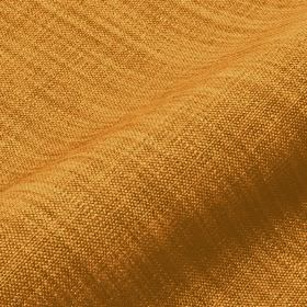 Prino - Orange1 - Burnt orange coloured linen, polyamide and viscose blend fabric featuring a few lighter and darker coloured threads