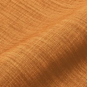 Prino - Orange (13) - Linen, polyamide and viscose blend fabric woven in warm orange and brown colours