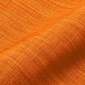 Prino - Orange4 - Two very bright shades of orange interwoven to create a plain, vivid fabric made with a linen, polyamide and viscose blend