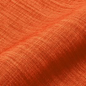 Prino - Red (16) - Fabric made from fiery orange and light orange coloured linen, polyamide and viscose