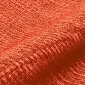 Prino - Red2 - Tomato red and creamy orange coloured threads woven together into a linen, polyamide and viscose blend fabric