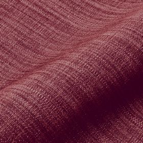 Prino - Purple Pink2 - Dark maroon coloured fabric made from a blend of linen, polyamide and viscose, with a few lighter pink coloured threa