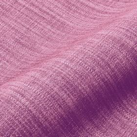 Prino - Pink (25) - Linen, polyamide and viscose threads in lilac and light pink colours woven together into an unpatterned fabric