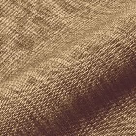 Prino - Green1 - Light golden brown coloured linen, polyamide and viscose blend fabric, with a few threads and areas in dark brown-grey