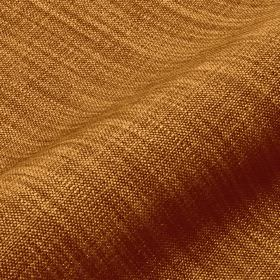 Prino - Brown6 - Golden shades of orange and brown combined to create an unpatterned fabric made from linen, polyamide and viscose