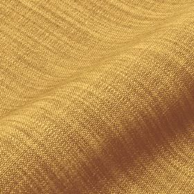 Prino - Yellow (35) - Mustard yellow and light brown streaked fabric made from a combination of linen, polyamide and viscose
