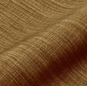 Prino - Green Brown - Two rich shades of brown interwoven into a fabric with a streaked pattern and a mixed linen, polyamide and viscose conte