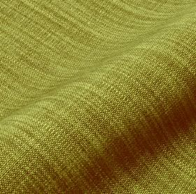Prino - Green Blue (42) - Fabric woven from linen, polyamide and viscose threads in bright grassy and leafy shades of green