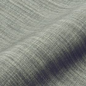 Prino - Grey (46) - Light grey threads streaking across a steel grey coloured linen, polyamide and viscose blend fabric