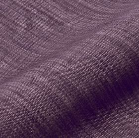 Prino - Purple (54) - Fabric made from linen, polyamide and viscose in two very similar dark shades of purple