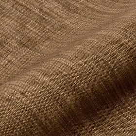 Prino - Brown10 - Chestnut brown coloured fabric made from linen, polyamide and viscose featuring a few threads in a lighter coffee colour