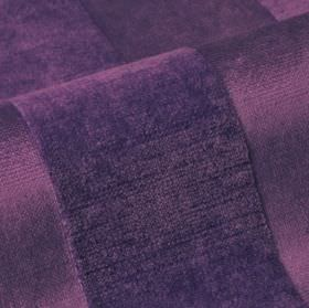 Stopera - Purple2 - Cotton, modal and polyester blend fabric made in dark, indulgent purple, featuring a subtle pattern of textured stripes