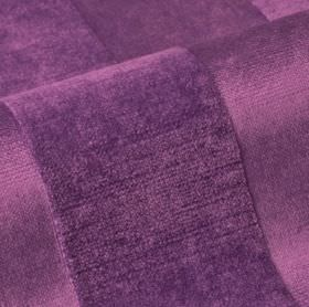 Stopera - Purple (14) - Fabric made from rich purple coloured cotton, modal and polyester, featuring a subtle textured stripe design