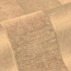 Stopera - Beige - Fabric made from cotton, modal and polyester in light bronze, featuring a very subtly textured stripe design
