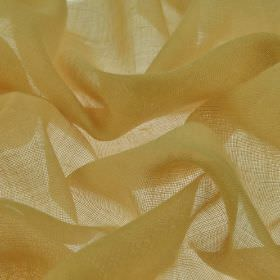 Locking CS - Gold (9) - Honeycomb coloured 100% Trevira CS fabric made with no pattern